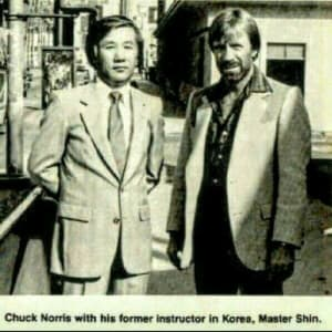 Chuck Norris and the WTSDA