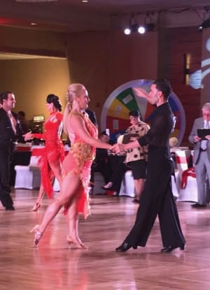 Competition Dance Team at the Vegas Open DanceSport 2018