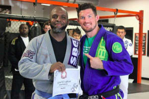 in Buford - Straight Blast Gym Buford - Erteka Anderson Is August's Martial Artist Of The Month