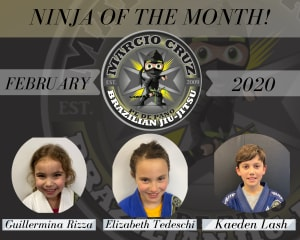 February | Ninja of The Month