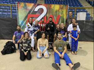 Grand Valley Adults Win 2nd Overall in April 28 Fight To Win Tournament