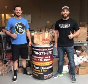 Gym Social and Food Drive
