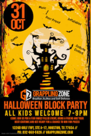 Halloween Block Party!