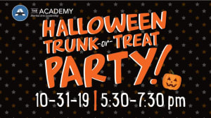 Halloween Trunk or Treat Party