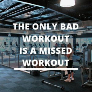 How Many Missed Workouts are Affect Your Progress?