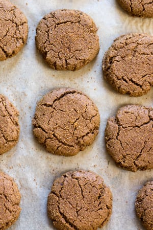 How to Make Grain Free Soft Ginger Bread Cookies