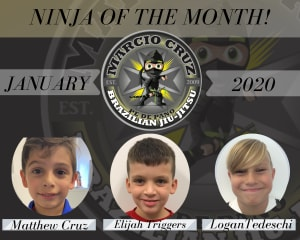 January | Ninja of The Month