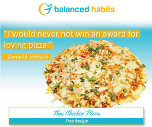Personal Training in Costa Mesa - The Training Spot - KICKSTART Recipe: Thai Chicken Pizza