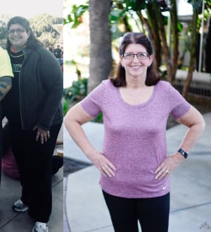 Personal Training in Costa Mesa - The Training Spot - Laura's 100 lbs weight loss began on the KICK START, but it didn't stop there...