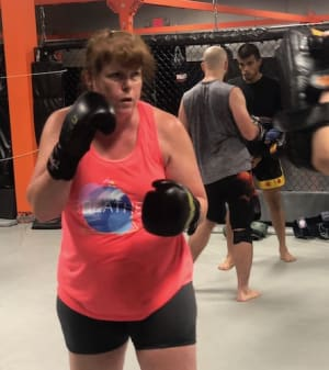 in Buford - Straight Blast Gym Buford - Lori Loses Body Fat And Gains Lean Muscle To Win Fitness Challenge