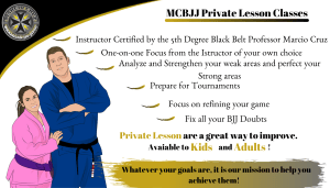 MCBJJ Private Lesson