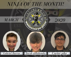 March | Ninja of The Month