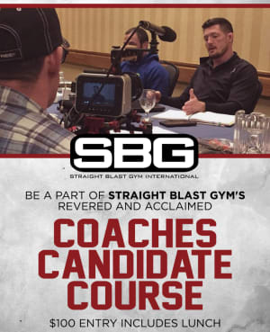 Martial Arts and Fitness Coaches Candidate Course