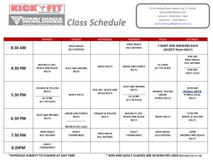 NOW ACCEPTING NEW STUDENTS IN COOPER CITY  - NEW CLASS SCHEDULE!!