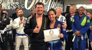 Natalie Pulley is August's Martial Arts Member of the Month
