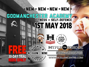 New Hyper Academy opening announced in Godmanchester (Huntingdon) Kids on the 1st May!