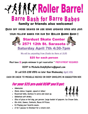 Barre in Venice - BodyByBarre - No Fooling -- Bunny Barre on April 1