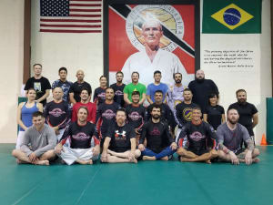 in Lafayette - Champagne's Martial Arts - No-Gi seminar at Team Hopkins HQ