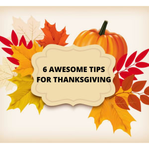 North Hollywood Personal Training |  6 awesome tips for Thanksgiving!