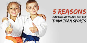 Oak Ridge TN Parents Check out the Top 5 Reasons You Should Enroll Your Children in Martial Arts over Other Sports
