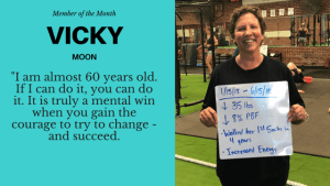 Personal Training in Columbia - K.O.R.E. Wellness - Overcoming cancer and self-limiting beliefs to show us the true meaning of indomitable spirit, this is Vickie Moon's inspirational journey.
