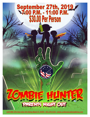 Parent's Night Out: Zombie Hunter