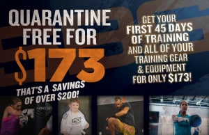 Quarantine Free For $173 Has Been Extended