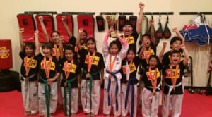 RECENT SUCCESS IN A TAEKWON-DO CHAMPIONSHIP