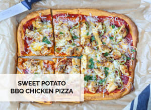 RECIPE: Sweet Potato BBQ Chicken Pizza