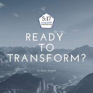Ready to transform? (3 Easy Steps)