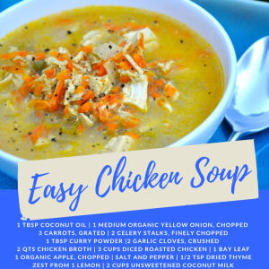Recipe of the Week: Easy Chicken Soup