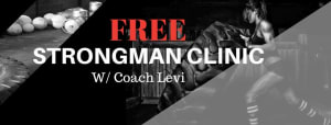 Strongman Clinic at RARE CrossFit Fredericksburg, Spotsylvania, and Stafford's premier CrossFit Facility!
