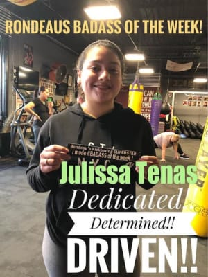 Rondeau's Kickboxing BadAss of the Week - Julissa