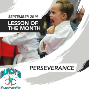 S.T.A.R. Word for September: PERSEVERANCE