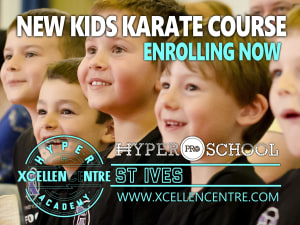 Self Defence Kids Course announced in St. Ives!