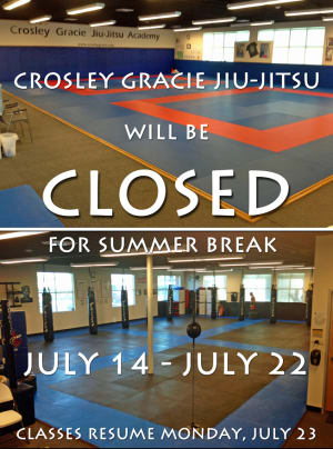 Summer Break Closing