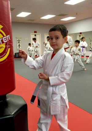 THE BENEFITS OF KARATE FOR KIDS