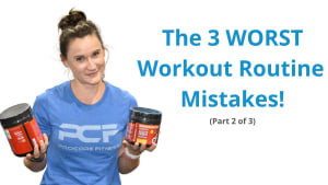 The 3 WORST Workout Routine Mistakes (Part 2 - Recovery)