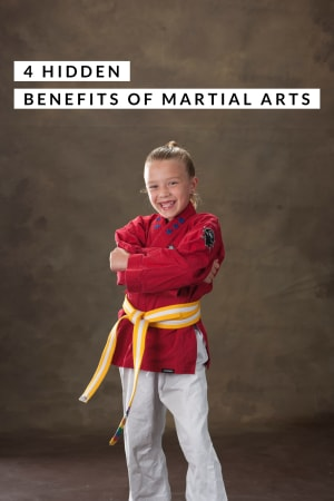 The 4 hidden benefits for martial arts!