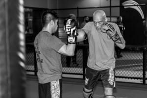 The Mixed Martial Arts workout of a LEGEND