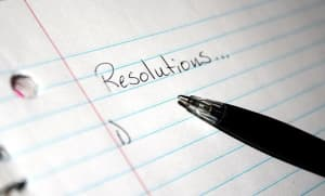 The New Year and your New Year's Resolutions