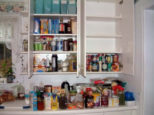 Tips from a nutrition coach: Kitchen Makeover while we're stuck at home