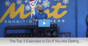 [VIDEO BLOG] Top 3 Exercises to Do if You are Dieting