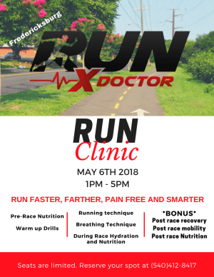 RxUN Doctor - Run Farther, Faster, Pain Free Seminar at RARE CrossFit, Fredericksburg, Spotsylvania, and Stafford's premier CrossFit Facility!