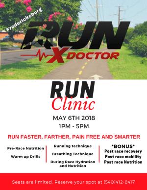 RxUN Doctor - Run Farther, Faster, Pain Free Seminar at RARE CrossFit, Fredericksburg, Spotsylvania, and Stafford's premier CrossFit Facility!
