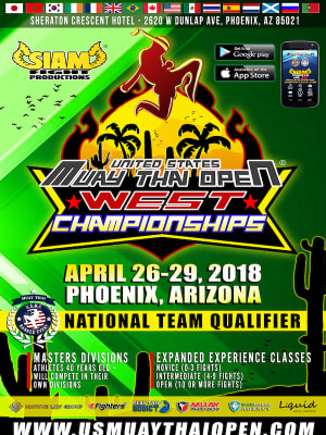 UCTC is Headed to the US Muay Thai Open