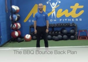 Personal Training  in Los Gatos - Mint Condition Fitness - [VIDEO BLOG] The BBQ Bounce Back Plan