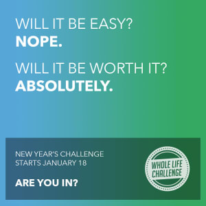 Whole Life Challenge - Come Join Our Trumbull Team