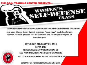 Women's Self Defense Seminar Part 1