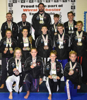 in Wirral - Wirral & Chester Taekwondo - World Champions